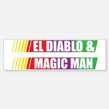 El Diablo and Magic Man Stickers