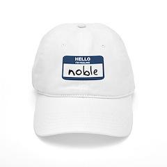 Feeling noble Baseball Cap