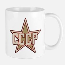 CCCP Star Vintage Mug