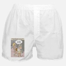 Cave Console Funny Greeting Card Boxer Shorts