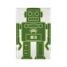 RobotKelGreen Rectangle Magnet