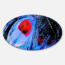 -periwinkle w red eye hue - full lo Sticker (Oval)