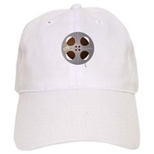 Movie Reel Baseball Baseball Cap