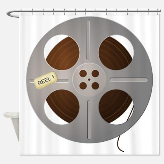 Movie Reel Shower Curtain
