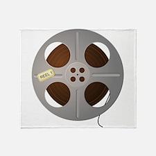 Movie Reel Throw Blanket
