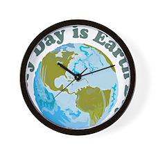 Earth_Day Wall Clock