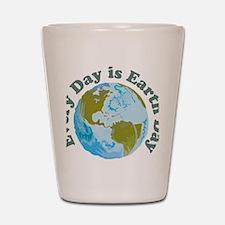 Earth_Day Shot Glass