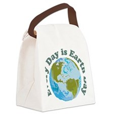 Earth_Day Canvas Lunch Bag