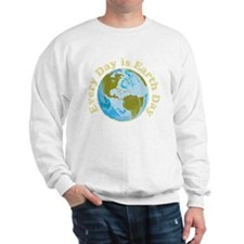 Earth_Day_dark Sweatshirt