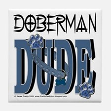DobermanDude Tile Coaster