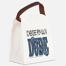 DobermanDude Canvas Lunch Bag