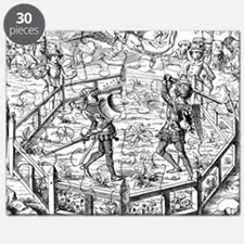 Single Combat Decided by Judgment of God 15 Puzzle