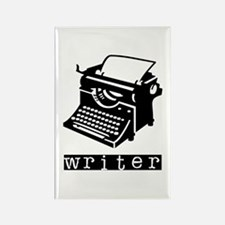 Typewriter Rectangle Magnet