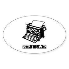 Typewriter Decal