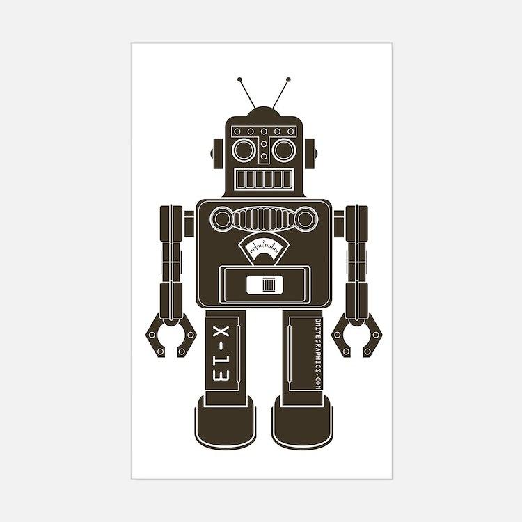 RobotAny Sticker (Rectangle)