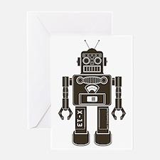 RobotAny Greeting Card