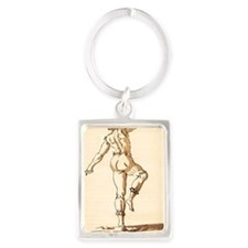 Nigrosco by Inigo Jones Portrait Keychain