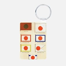 Japanese Maritime Flags ci Aluminum Photo Keychain