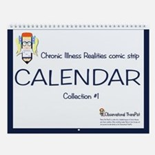 Chronic Illness Realities Comic Strip Calendar