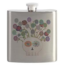 skull slowers Flask