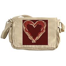 Baconheart3 Messenger Bag