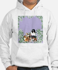 dogs for blanket Hoodie