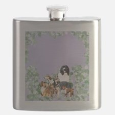 dogs for blanket Flask