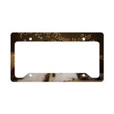 Hitch Your Wagon License Plate Holder