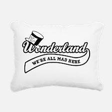 Team-Wonderland:  Were A Rectangular Canvas Pillow