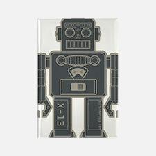 RobotGray Rectangle Magnet