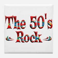 The 50s Rock Tile Coaster