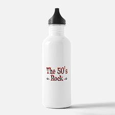 The 50s Rock Water Bottle
