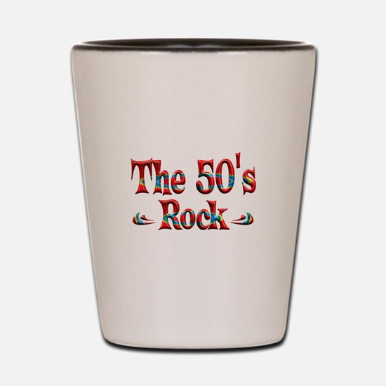 The 50s Rock Shot Glass