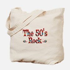 The 50s Rock Tote Bag