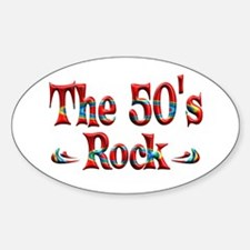 The 50s Rock Decal