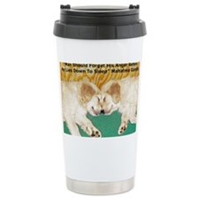 Golden Retriever Puppies, Mahat Travel Mug