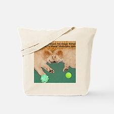 Golden Retriever Puppies, Mahatma Gandhi  Tote Bag