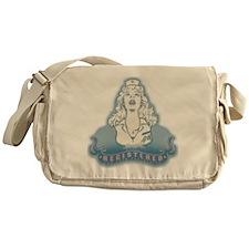 nurse-angel-FLAT Messenger Bag
