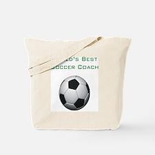 soccercoach Tote Bag