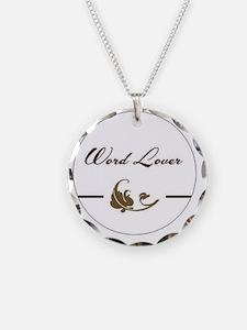 wordloverLg Necklace