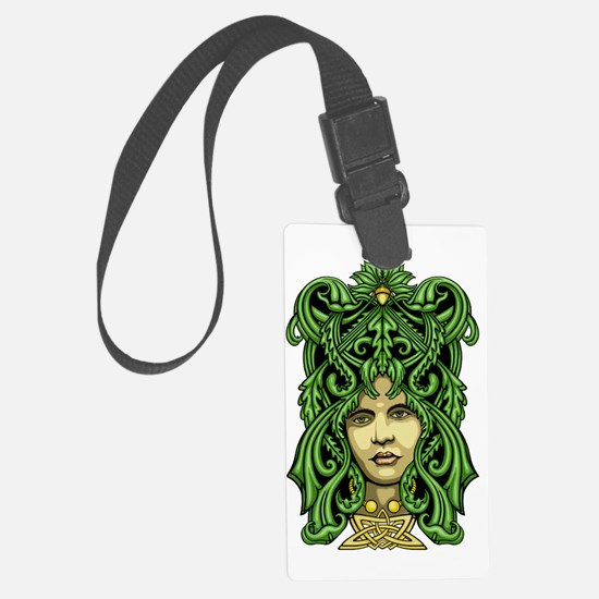 Greenman graphic 2 Luggage Tag