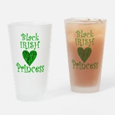2-black_irish_princess_1 Drinking Glass