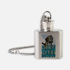Chief Motel Flask Necklace