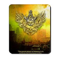 FreemasonryHumanRace Mousepad
