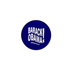 Barack Obama! Blue Mini Button