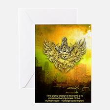 FreemasonryHumanRace Greeting Card