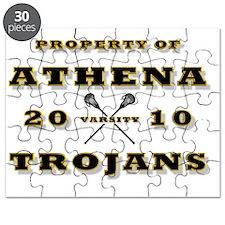 PROPERTY OF ATHENA TROJANS-LACROSSE-2 Puzzle