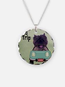 ROADTRIPSQD Necklace Circle Charm