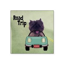 "ROADTRIPSQD Square Sticker 3"" x 3"""