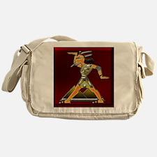 Funky Egyptian Prince Ruby and Squar Messenger Bag